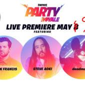 *FULL* Party Royale DJ Set (Dillion Francis, Steve Aoki, Deadmau5) || FORTNITE